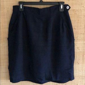 VTG Anne Klein Silk Skirt